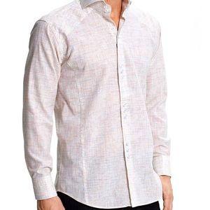 BOGOSSE  Matis 87 Mens  Button Front Shirt 6